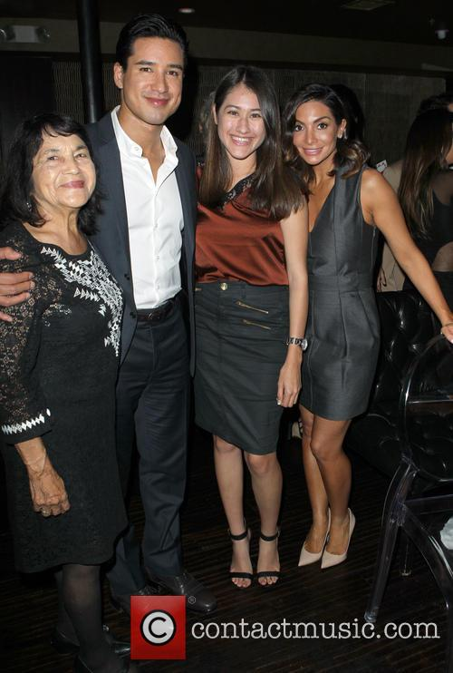 Dolores Huerta, Mario Lopez and Courtney Laine Mazza 3