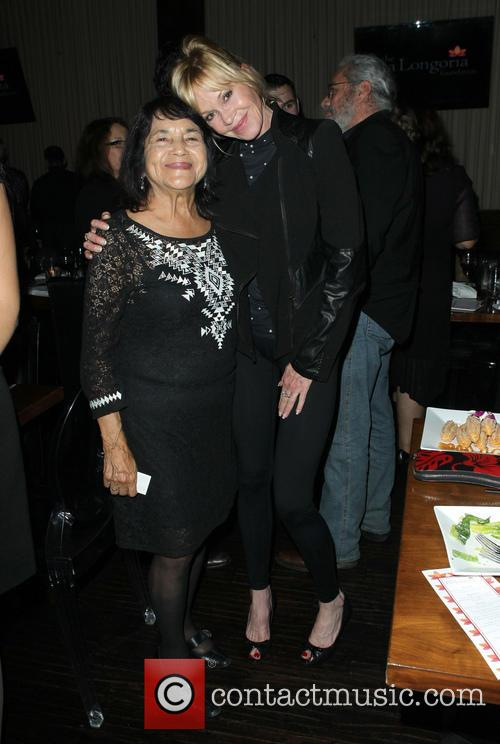 Dolores Huerta and Melanie Griffith 4