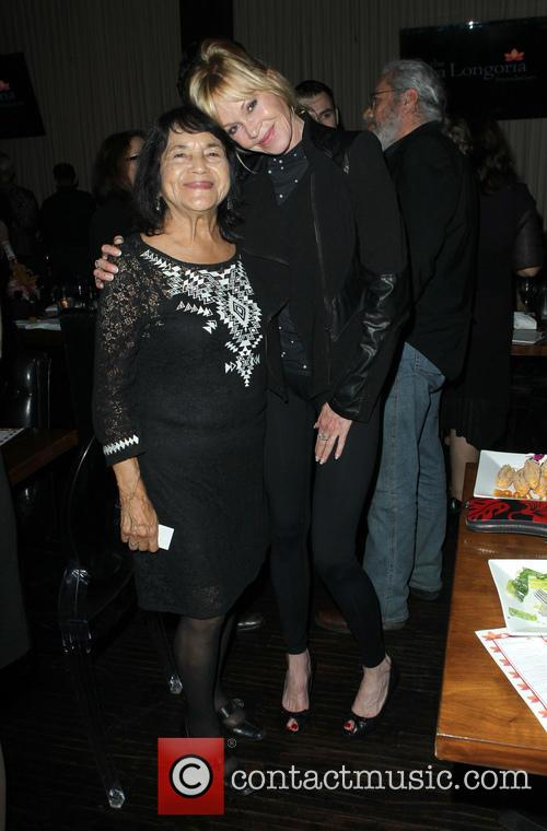 Dolores Huerta and Melanie Griffith 5