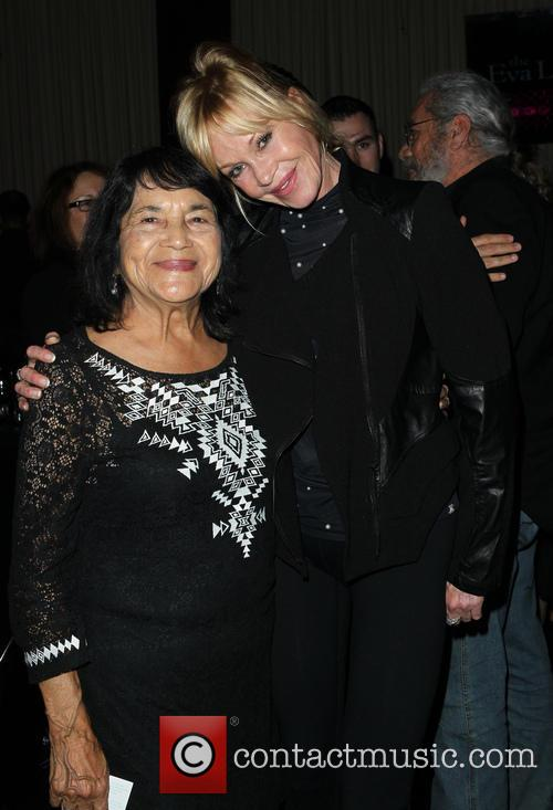 Dolores Huerta and Melanie Griffith 6