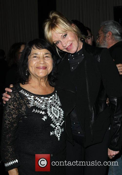 Dolores Huerta and Melanie Griffith 1
