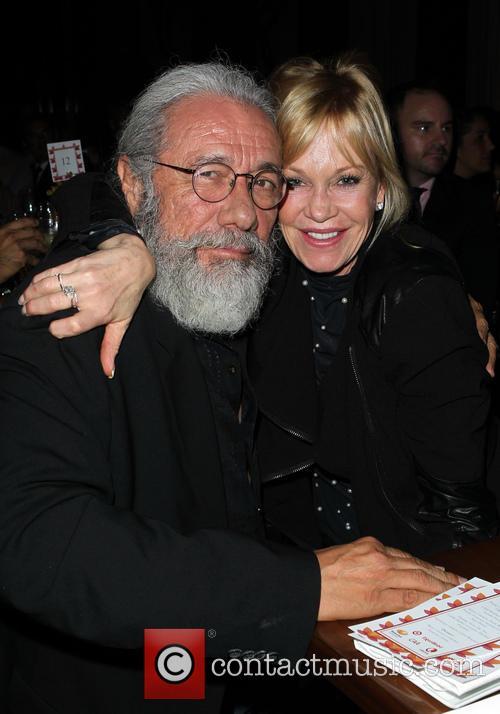 Edward James Olmos and Melanie Griffith 4