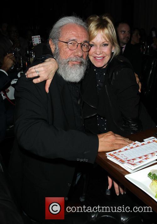 Edward James Olmos and Melanie Griffith 5