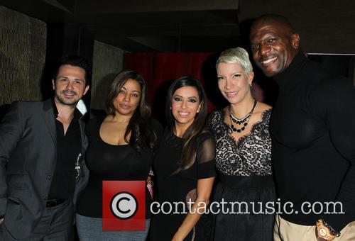 Freddy Rodriguez, Elsie Rodriguez, Eva Longoria, Rebecca King-crews and Terry Crews 1