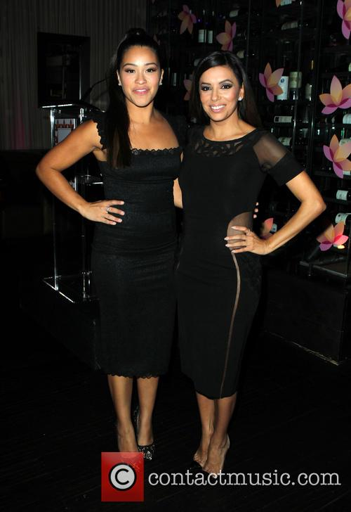 Gina Rodriguez and Eva Longoria 3