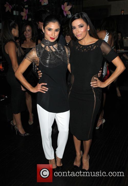 Gina Rodriguez and Eva Longoria 6