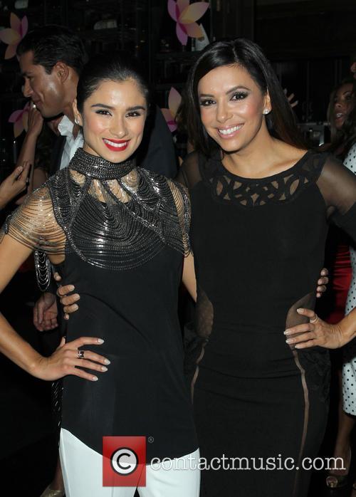Gina Rodriguez and Eva Longoria 9
