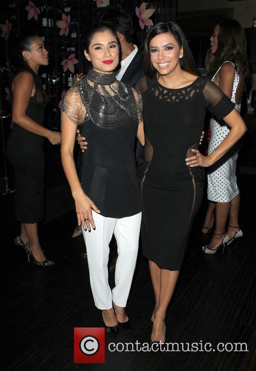 Gina Rodriguez and Eva Longoria 10