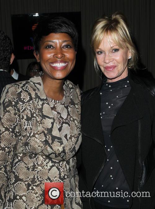 Leisha and Melanie Griffith 1