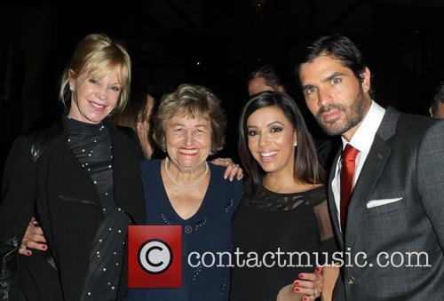 Melanie Griffith, Ella Eva Mireles, Eva Longoria and Eduardo Verástegui 6
