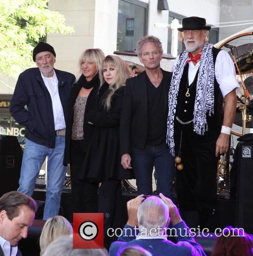 Fleetwood Mac, John Mcvie, Christine Mcvie, Stevie Nicks, Lindsey Buckingham and Mick Fleetwood