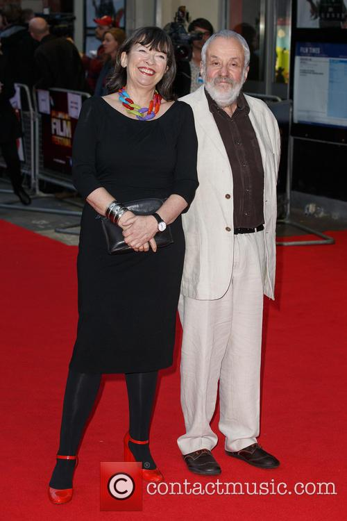 Marion Bailey and Mike Leigh 3
