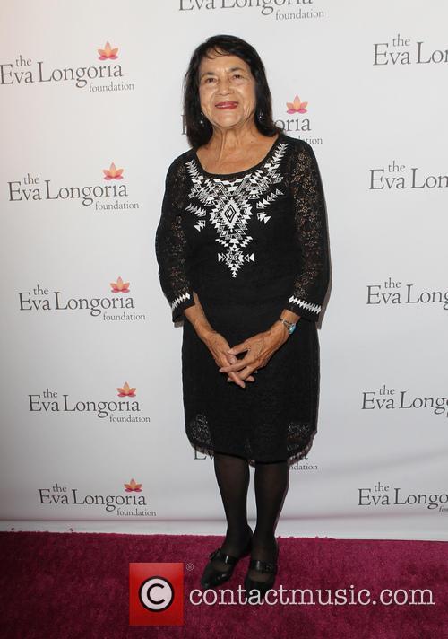 Eva Longoria and Dolores Huerta 2