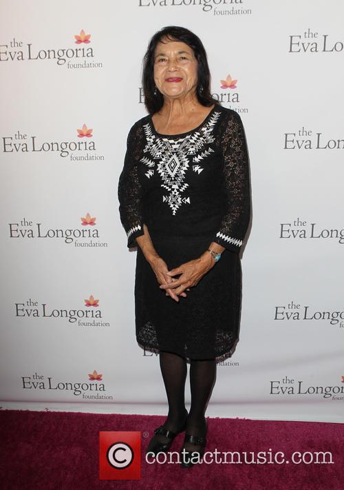Eva Longoria and Dolores Huerta 3