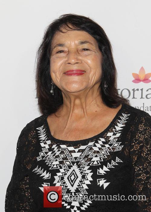 Eva Longoria and Dolores Huerta 4