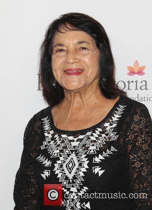 Eva Longoria and Dolores Huerta 5