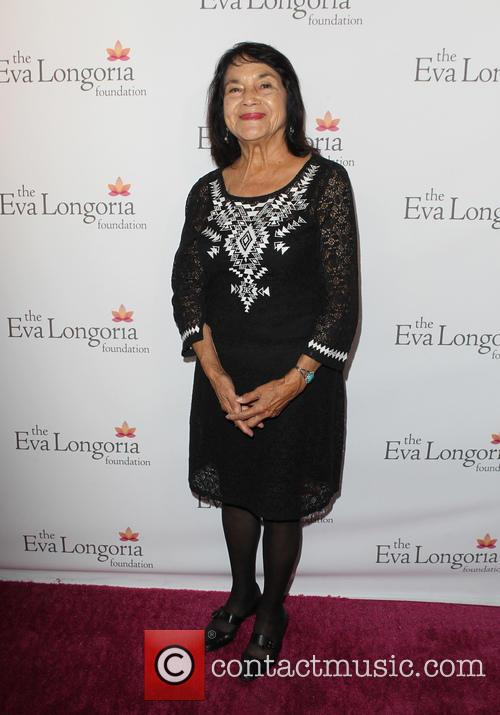 Eva Longoria and Dolores Huerta 6