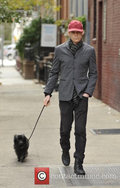 Hyundai Of Bowie >> Michael C Hall - Michael C Hall walking his dog in Soho ...