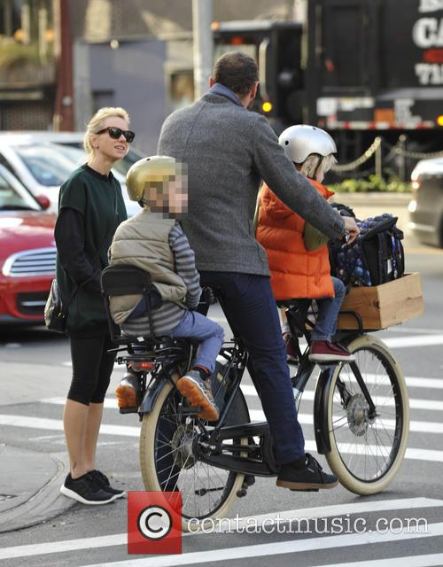 Liev Schrieber and Naomi Watts take their sons...