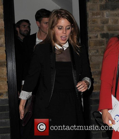 Princess Beatrice and Dave Clark 7