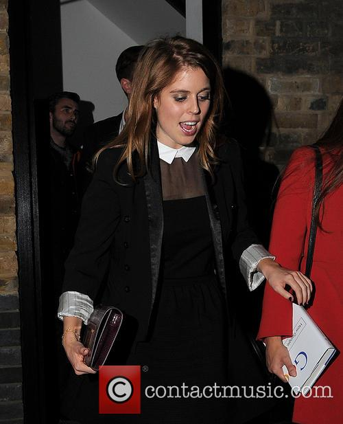 Princess Beatrice and Dave Clark 9