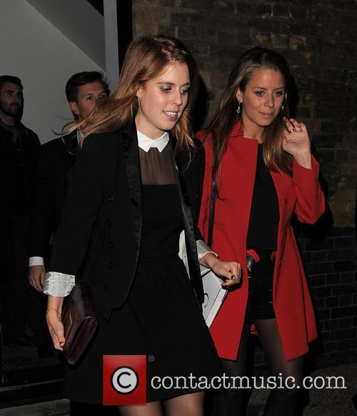 Princess Beatrice and Dave Clark 11