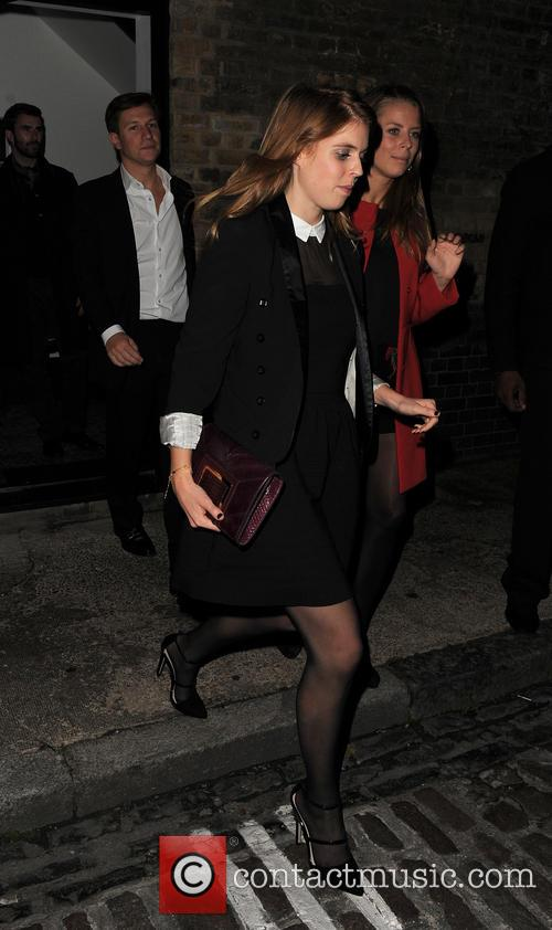 Princess Beatrice and Dave Clark 1