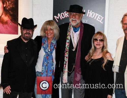 Dave Stewart, Christie Mcvie, Mick Fleetwood and Stevie Nicks