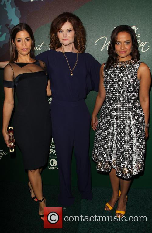 Ana Ortiz, Rebecca Wisocky and Judy Reyes