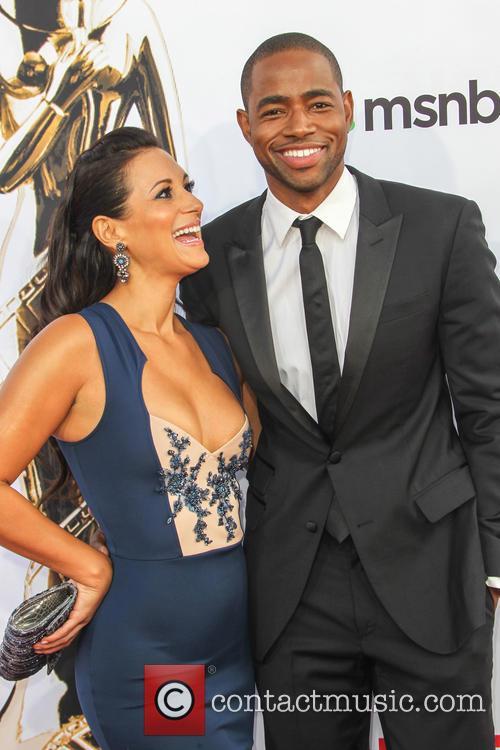 Angelique Cabral and Jay Ellis