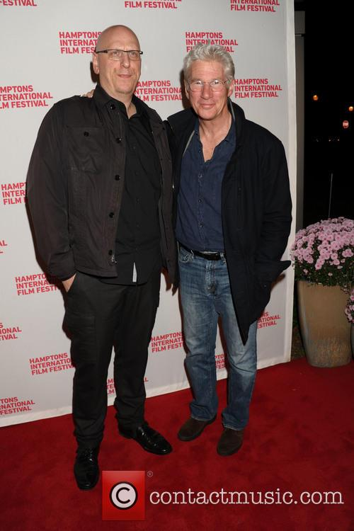 Director Oren Moverman and Richard Gere 1