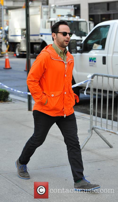 Comedian Nick Kroll out strolling in Soho