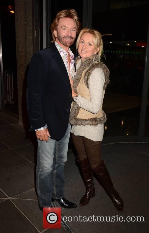 Noel Edmonds and Liz Davies