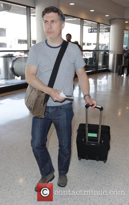 Celebrities at LAX airport