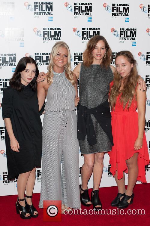 Marama Corlett, Hannah Spearritt and Sienna Guilleroy 2
