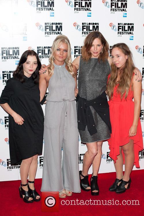 Marama Corlett, Hannah Spearritt and Sienna Guilleroy 3