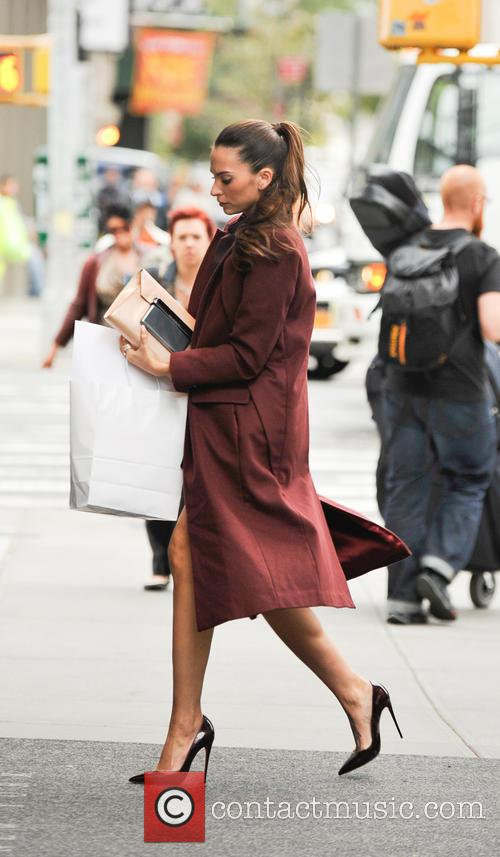Telemundo star Genesis Rodriguez spotted out and about...