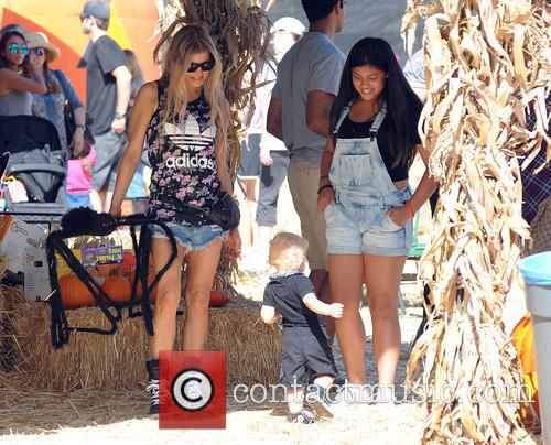 Fergie and Axl Duhamel
