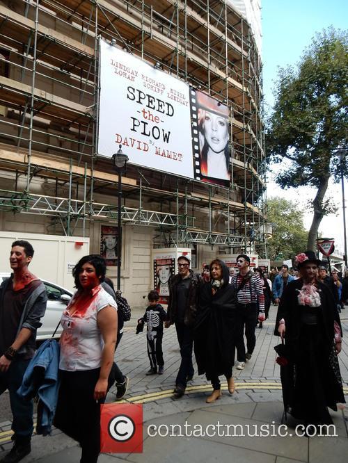 Zombie Walk London 2014