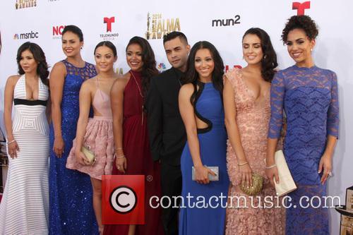 East Los High Cast, Ashley Campuzano, Alicia Sixtos, Alexandra Rodriguez, Vivian Lamolli, Gabriel Chavarria, Danielle Vega, Vanessa Vasquez and Andrea Sixtos