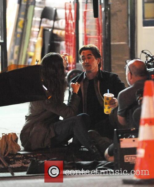 Emmy Rossum and Dermot Mulroney 4