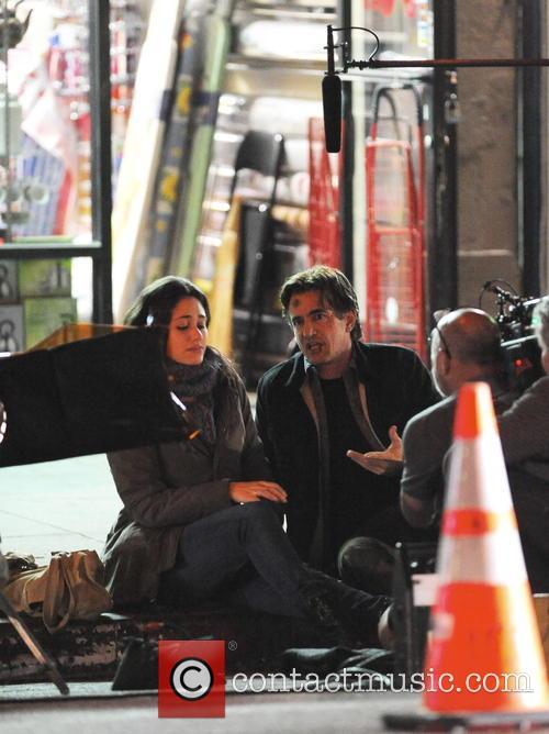 Emmy Rossum and Dermot Mulroney 6