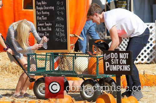 Celebs at Mr.Bones Pumpkin Patch