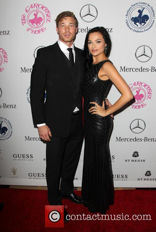 Derek Theler and Christina Ochoa 1