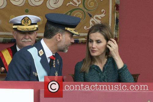 Spanish National Day military parade