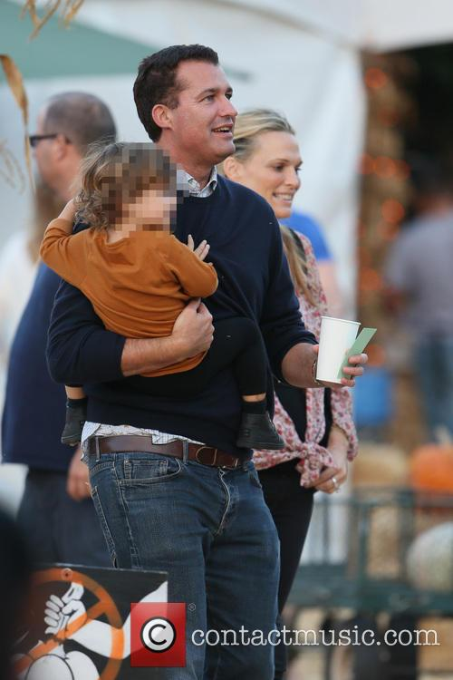 Molly Sims and Scott Stuber take Brooks to...