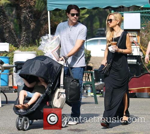 Rachel Zoe visits a Farmer's Market with her...