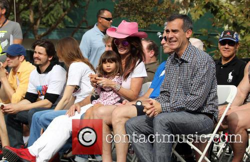 Maya Juanita Garcetti, Lisa Vanderpump and Mayor Eric Garcetti