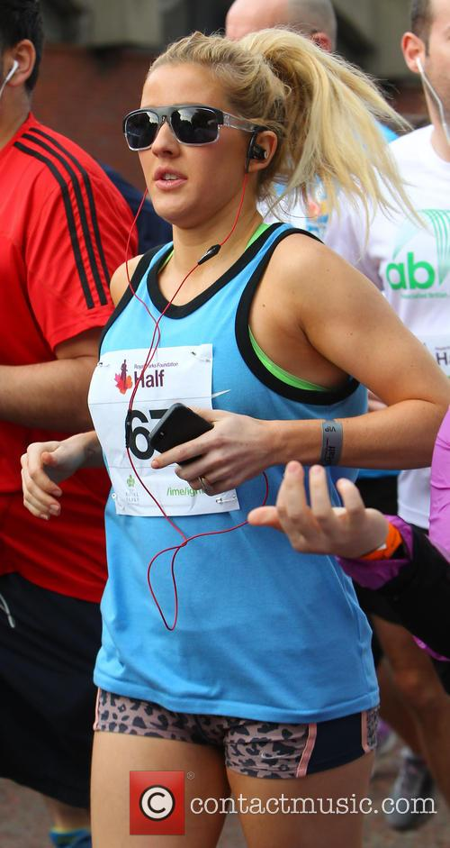 Ellie Goulding competes in the Royal Parks Foundation...