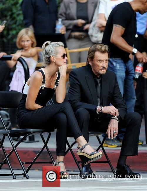 Johnny Hallyday, Laeticia and Joy